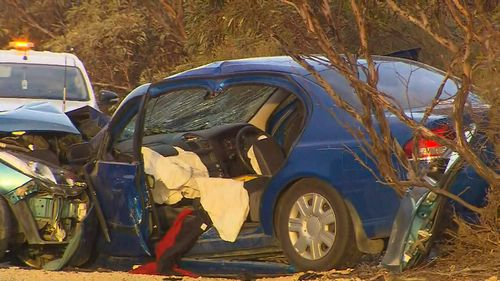 The 69-year-old driver of the Ford has been charged over the collision.