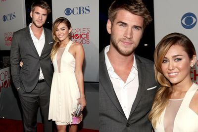 Miley and Liam...you got to admit, they're cute!
