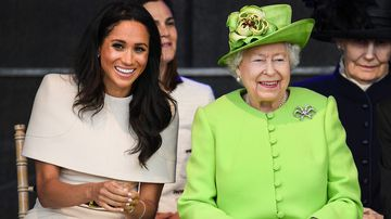Meghan's awkward protocol gaffe with the Queen