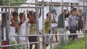 Detainees at the Manus Island centre. (AAP file image)