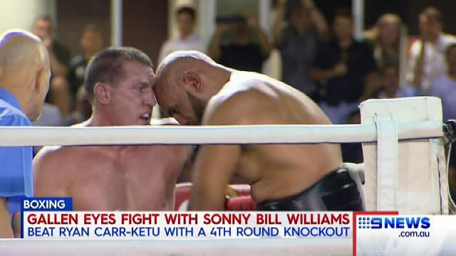 Gallen calls out SBW after impressive knockout