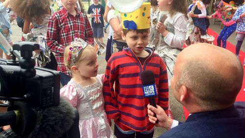9NEWS Europe Correspondent Michael Best interviews his kids. (Supplied)