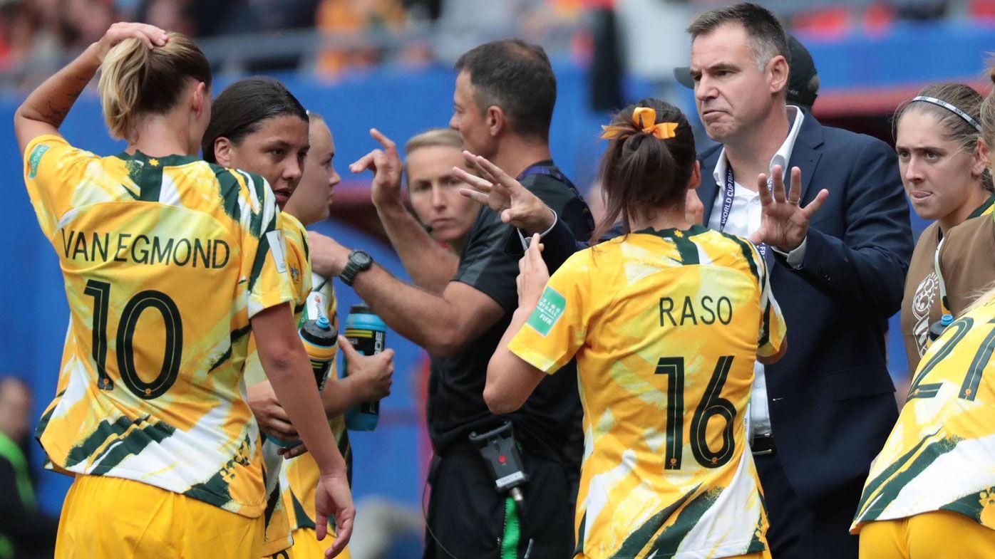 Ante Milicic sticking with Matildas gameplan despite disastrous World Cup loss
