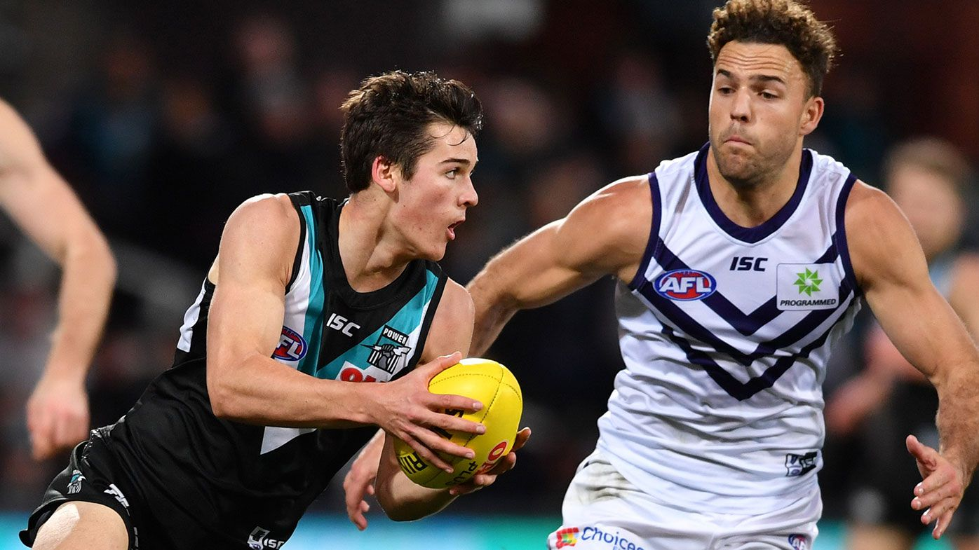 Port Adelaide scrap AFL co-captaincy model with Ollie Wines dropped