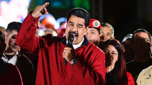 Venezuelan president Nicolas Maduro. (AFP)