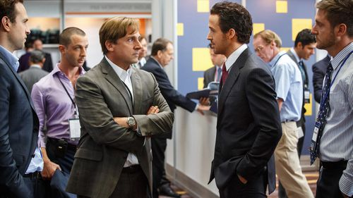 The film version of Michael Lewis' The Big Short follows a bunch of misfits who foresaw the housing and mortgage bubble a decade ago. (Paramount Pictures via AAP)