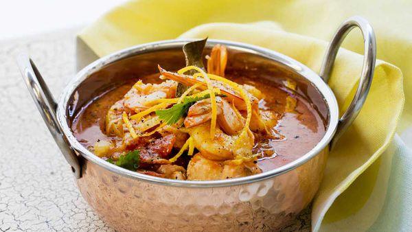 Stew seafood