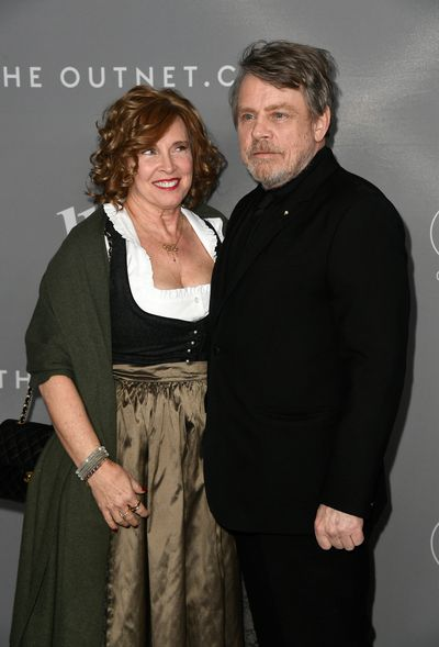 Marilou York and actor Mark Hamill at the 20th Annual Costume Designers Awards