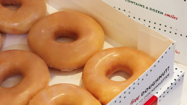 Krispy Kreme Australia Original Glazed doughnuts