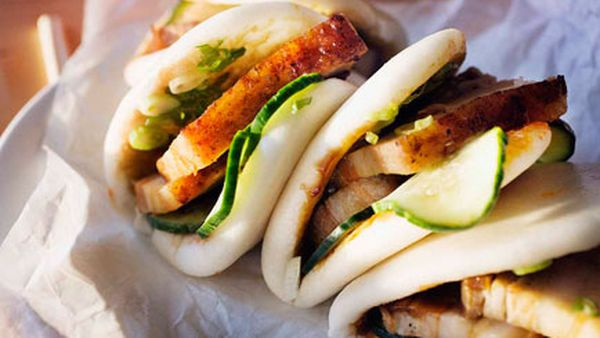 Momofuku's pork buns