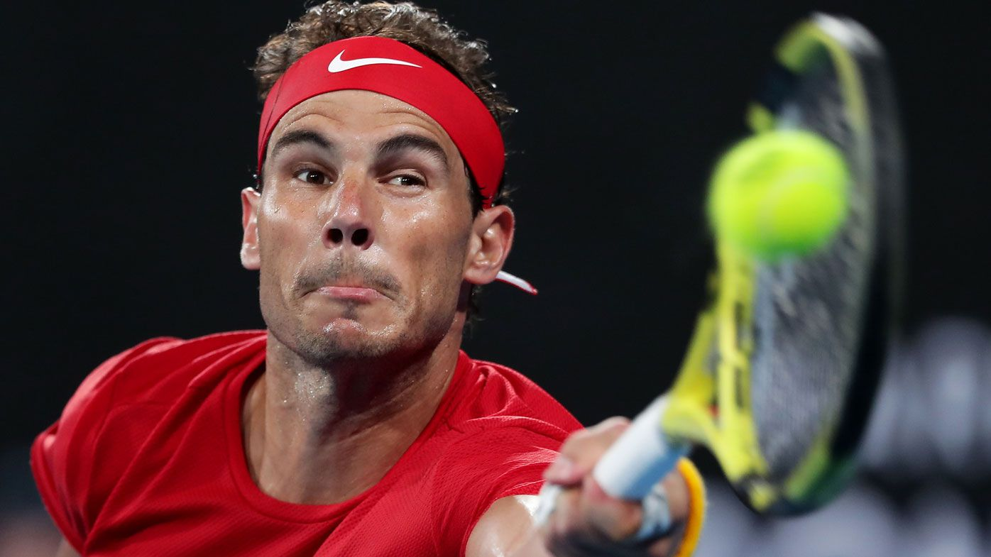 Rafael Nadal chides Sydney crowd after ATP Cup final