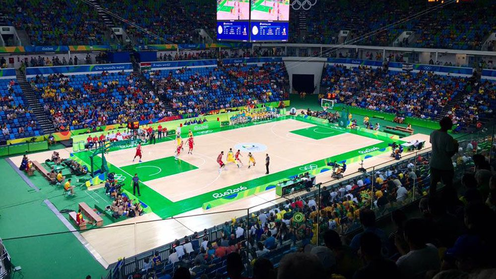 An investigation has revealed that as many as 80 athletes used recycled tickets to enter the Boomers game. (Supplied)