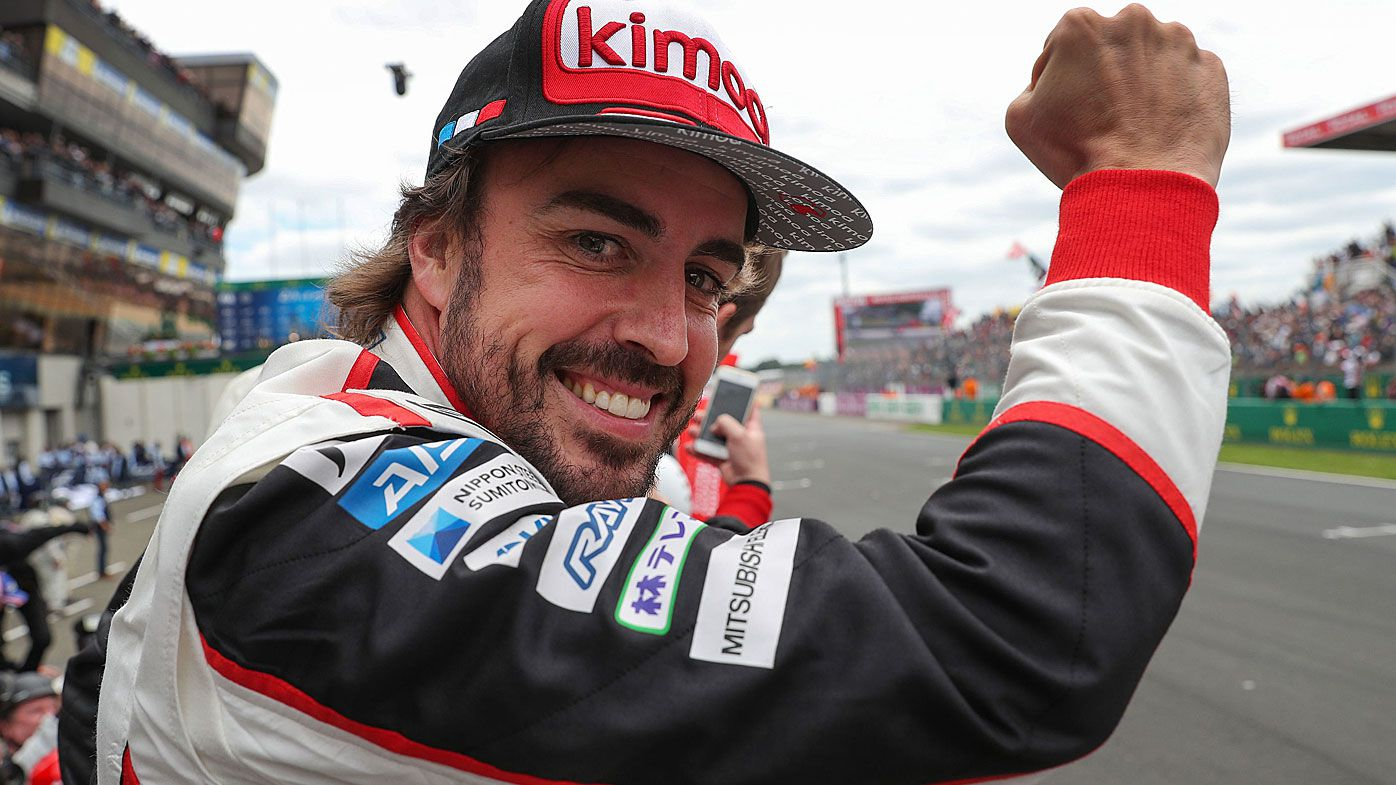 Supercars make bold plan to bring Fernando Alonso to Bathurst