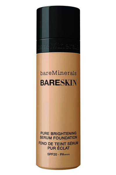 "<a href=""http://mecca.com.au/bareminerals/bareskin-pure-brightening-serum-foundation/V-019049.html"" target=""_blank"">bareSkin Pure Brightening Serum Foundation, $43, Bare Minerals</a>"