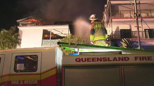 The smoke alarms were only checked a week ago. (9News)