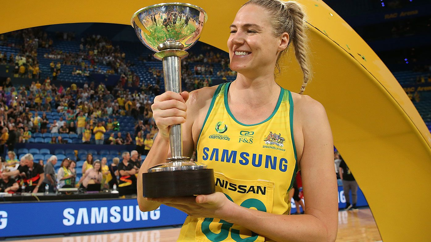 Caitlin Bassett retains Diamonds captaincy for Constellation Cup opener despite rotation policy