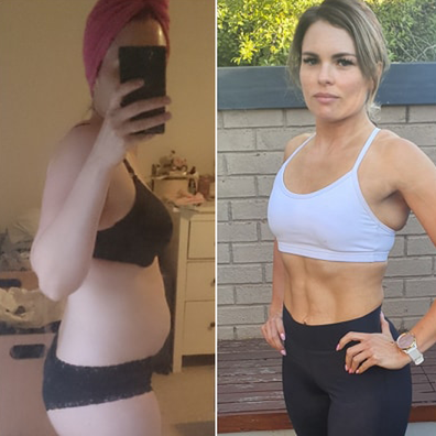 The Healthy Mummy weight loss before and after