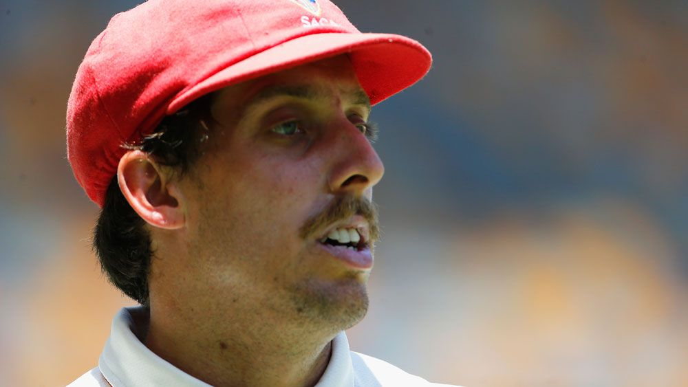 Test chance Jake Lehmann had a day to forget. (Getty Images)