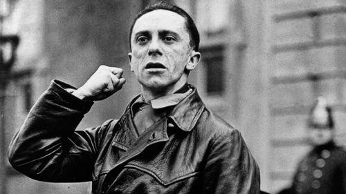 Nazi propaganda minister Joseph Goebbels. (Getty)