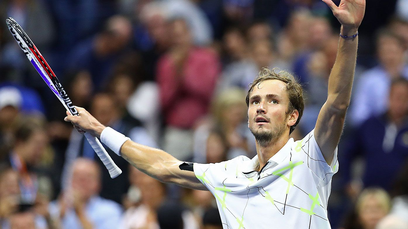 Medvedev is through to the US Open final against Nadal