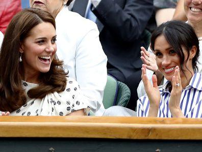 Royals at the tennis