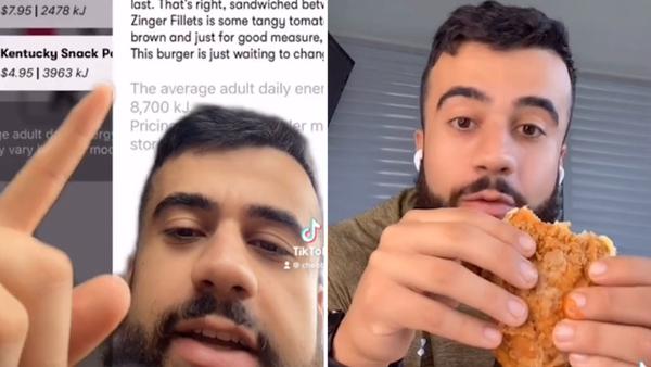 TikTok star taste tests new KFC secret menu item