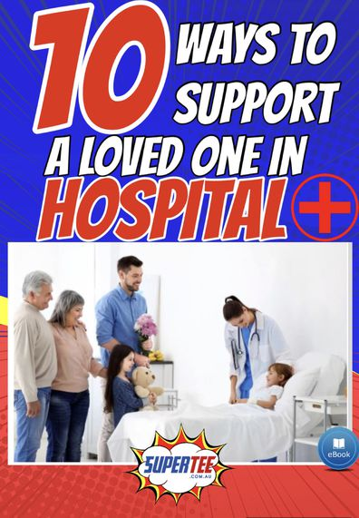 Jason has released the e-book to help family and friends help those in hospital.