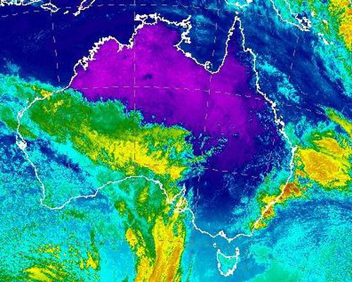 Coastal NSW and parts of southern Australia are getting some heavy falls. Picture: Bureau of Meteorology