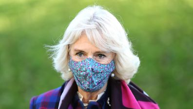 Camilla and Prince Charles vaccination centre