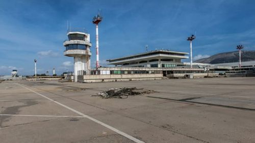The airport was once Greece's largest.