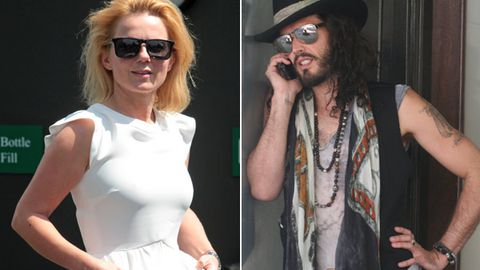 'It's been a whirlwind': Geri Halliwell speaks about her romance with Russell Brand for the first time