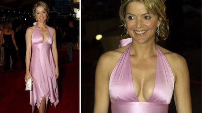 Television host Sandra Sully arriving at the award show in 2003. (AAP)