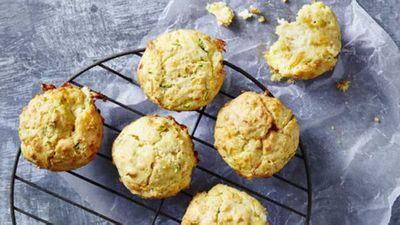 """<a href=""""http://kitchen.nine.com.au/2016/12/14/14/19/cheesy-garlic-bread-muffins"""" target=""""_top"""">Cheesy garlic bread muffins</a> recipe"""