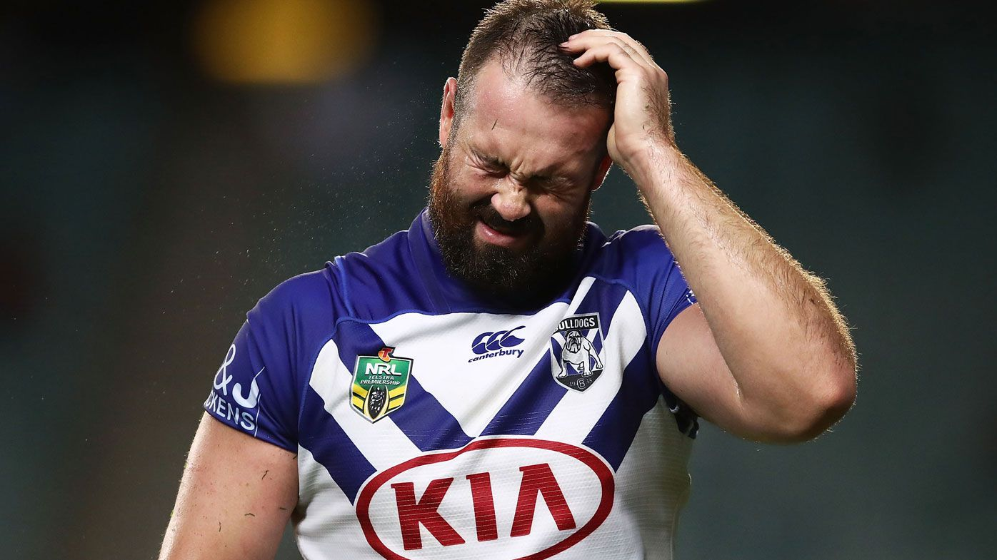 Aaron Woods charged over NRL cannonball tackle