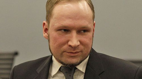 Anders Behring Breivik after his trial. (AAP)