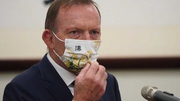 Former Prime Minister Tony Abbott is visiting Taiwan.