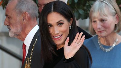 Meghan Markle's first solo royal engagement, September 2018