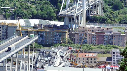 Grief has gripped Italy as the death toll from the bridge disaster climbed to 39.