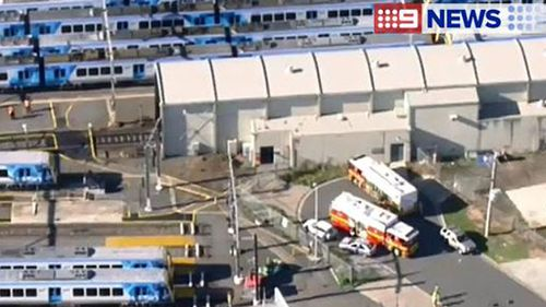 Hazmat crews search Melbourne train after three people fall ill
