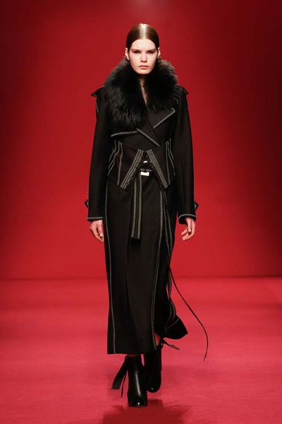 """""""We want to unravel, deconstruct and reconstruct pieces from another era, in new ways making them relevant today,"""" says Kym Ellery of Ellery's autumn/winter 2016 collection. """"It is a collection that explores the contrast between old and new, filled with pieces that are both fluid and structured in equal measure."""""""