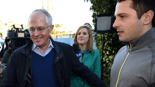 Malcolm Turnbull and his son Alex.