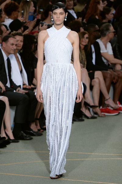 <p>Goddess dressing </p> <p>Givenchy, haute couture autumn/winter, '16/'17, Paris Fashion Week</p>