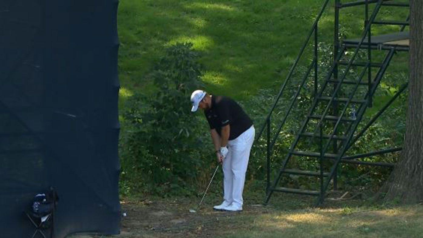 Lowry slams referee who 'lacks balls' in PGA rules farce