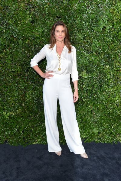 Supermodel Cindy Crawford in Chanel