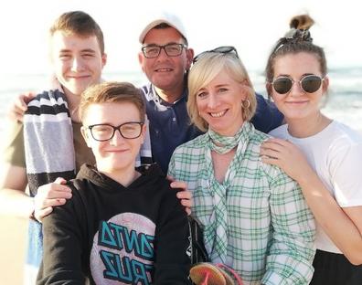 Daniel Andrews family