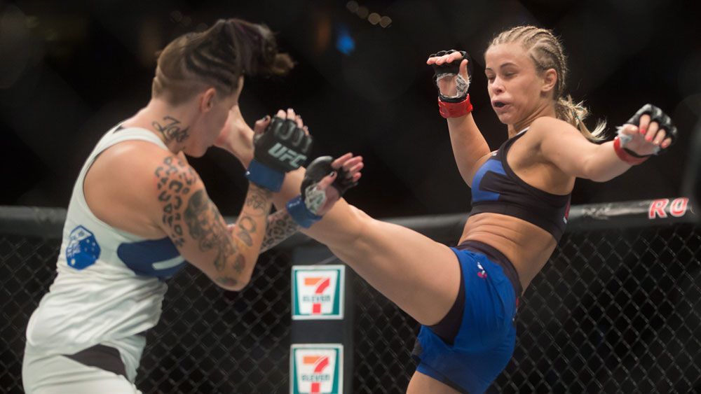 UFC: 'Karate Kid' VanZant knocks out Aussie Rawlings