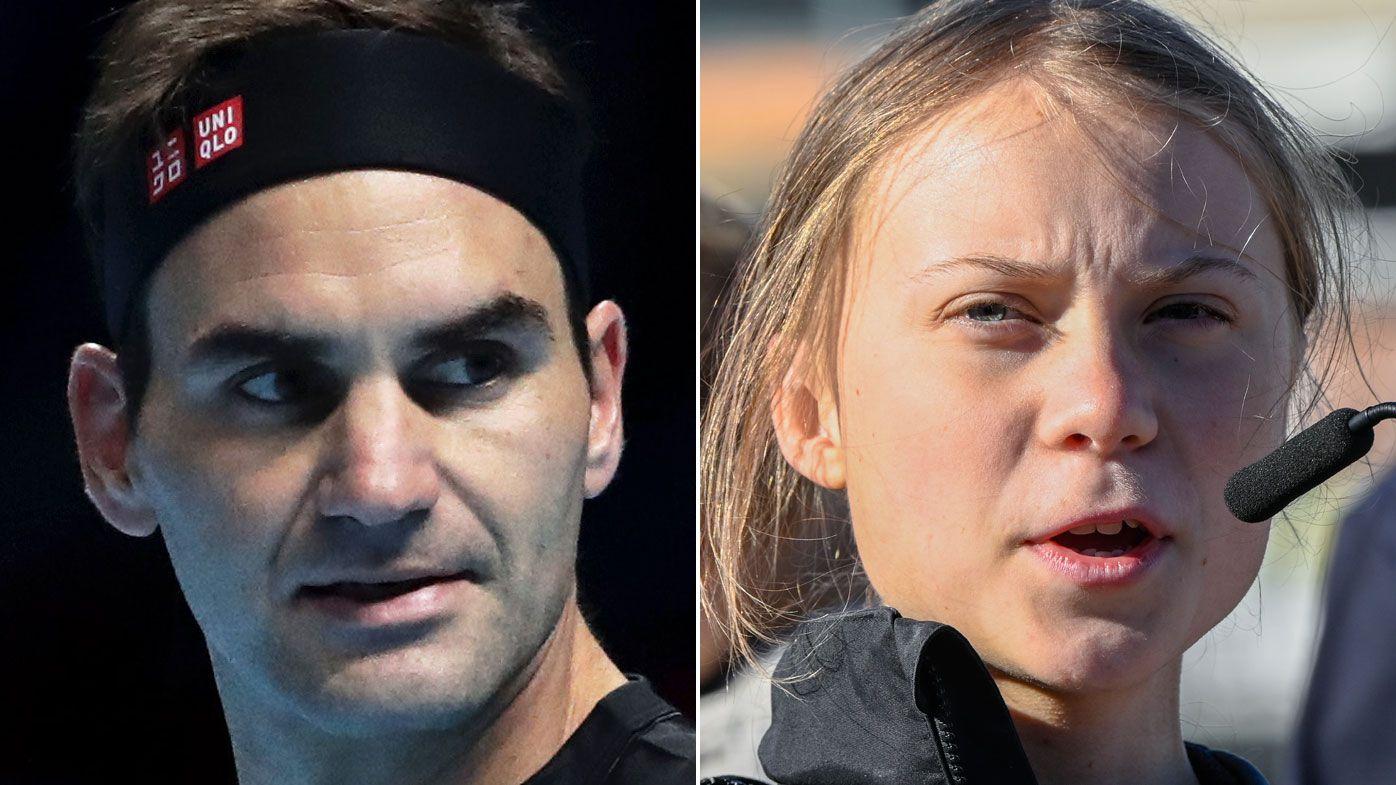 Roger Federer responds to Greta Thunberg criticism over Credit Suisse sponsorship