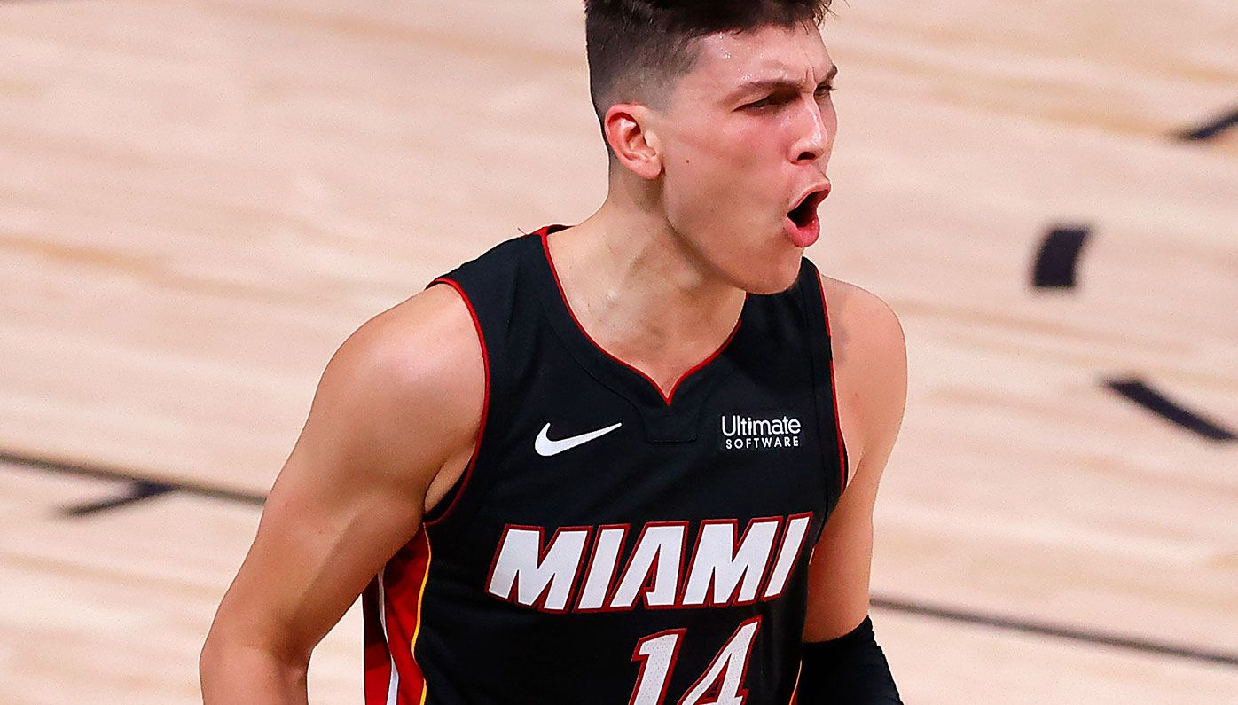 Tyler Herro starred for Miami in their win over Boston.