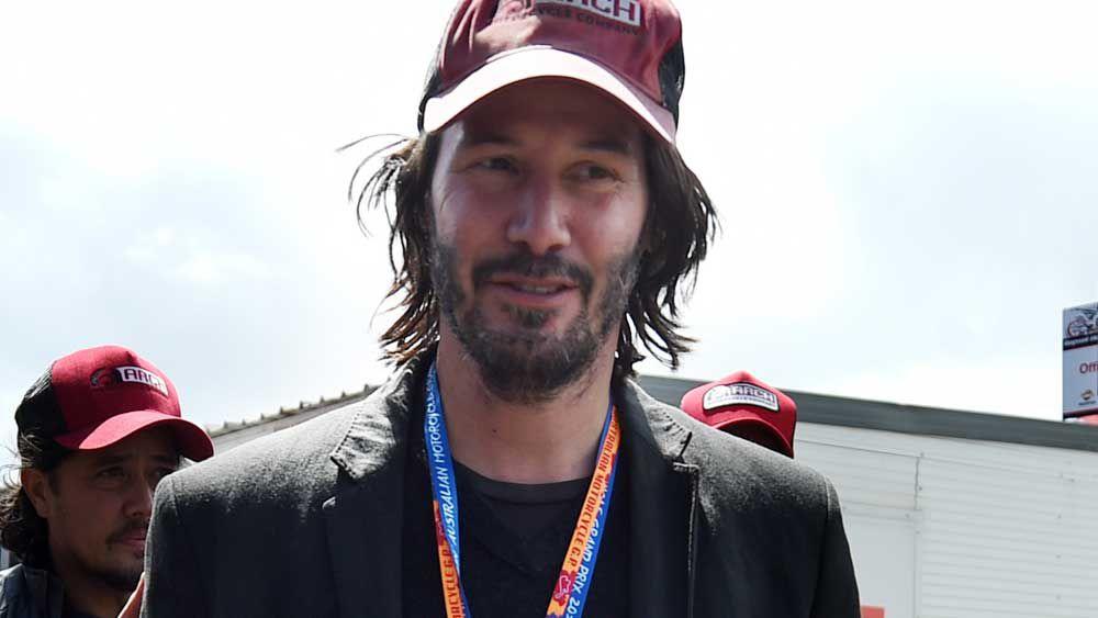 MotoGP: Keanu Reeves spotted at Phillip Island