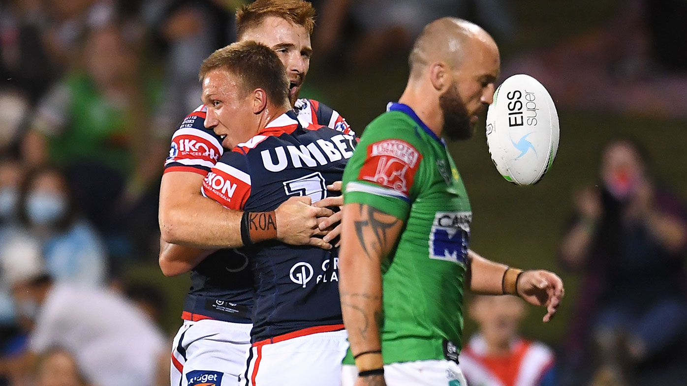 The Roosters have officially ended the Raiders' season.